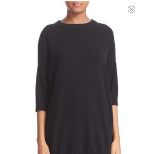 Vince Black Oversized Cashmere Sweater Size S